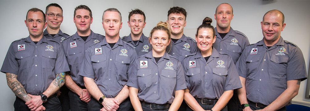 10 Tri service safety officers 1 - Apprenticeships for Tri-Service Safety Officers are national first