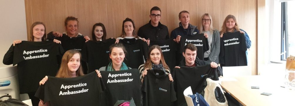 young apprenticeships ambassadors 1004x360 - Cornwall's Young Apprenticeship Ambassadors spread the word