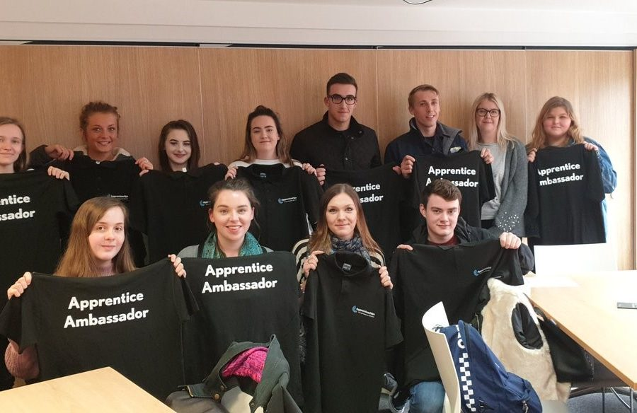young apprenticeships ambassadors 900x584 - Cornwall's Young Apprenticeship Ambassadors spread the word