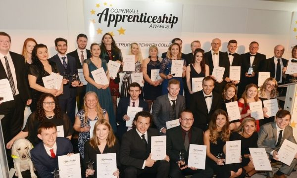 2018 Award winners and highly commended nominees 1200 700 1 600x360 - NOMINATIONS OPEN FOR THE 2019 CORNWALL APPRENTICESHIP AWARDS