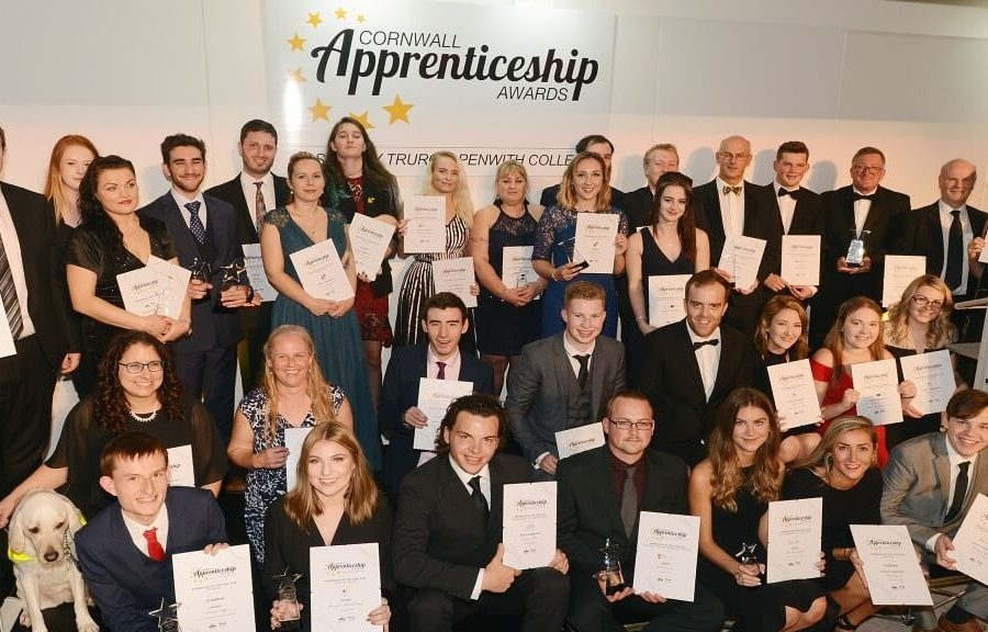 2018 Award winners and highly commended nominees 1200 700 1 900x576 - NOMINATIONS OPEN FOR THE 2019 CORNWALL APPRENTICESHIP AWARDS
